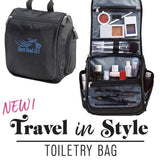 Open Road Girl Hanging Toiletry Kit