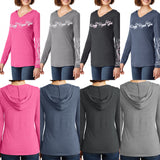 Open Road Girl Long Sleeve Hooded Tee, 4 Colors