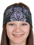 Open Road Girl Rhinestone Tribal Bandana, 7 Colors