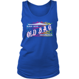 OLD B.A.G. Bad Ass Grandma Tank Top, 3 COLORS