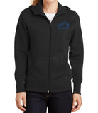 I Ride My Own Ladies Full-Zip Hooded Fleece Jacket, 3 Colors