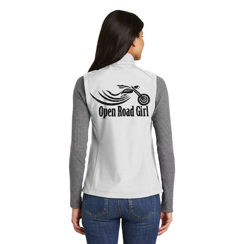 OFF WHITE Open Road Girl Soft Shell Vest, 8 COLORS