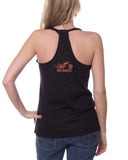 Live/Love/Ride Razorback Tank Tops, 3 Colors