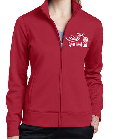Open Road Girl Sport-Wick Fleece Jacket, 3 Colors