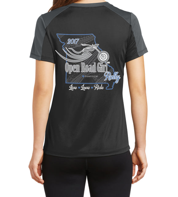 2017 Springfield MO Rally Ladies V-neck Tee