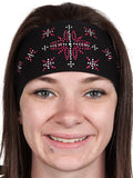 Biker Diamond Rhinestone Headwrap
