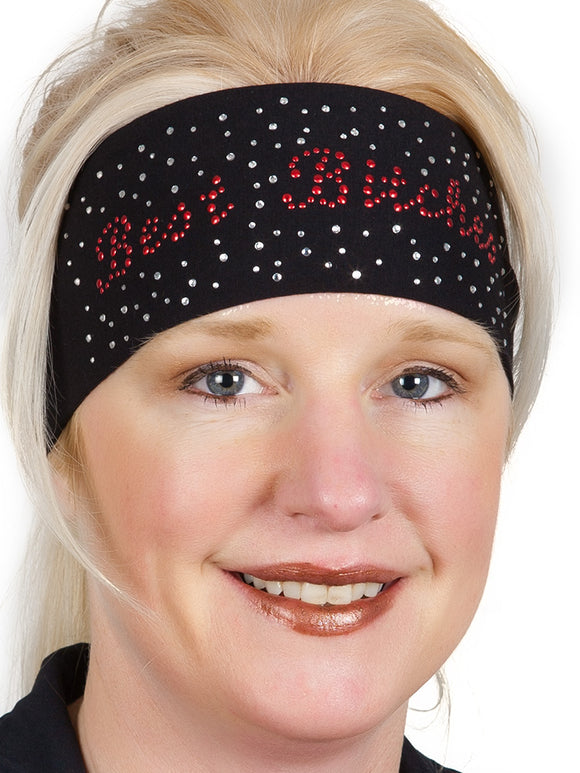 Best Bitches Rhinestone Headwrap, 3 Styles