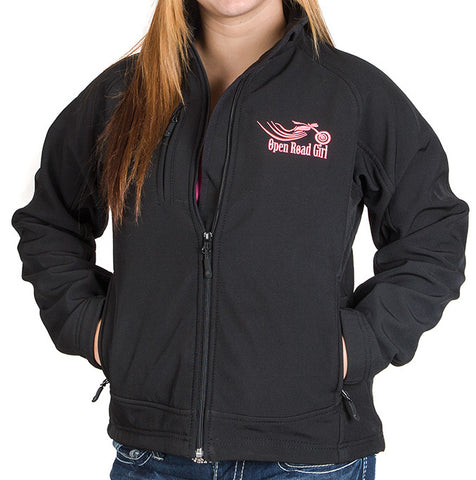 Open Road Girl Thermal Soft Shell Jacket, SMALL-XL