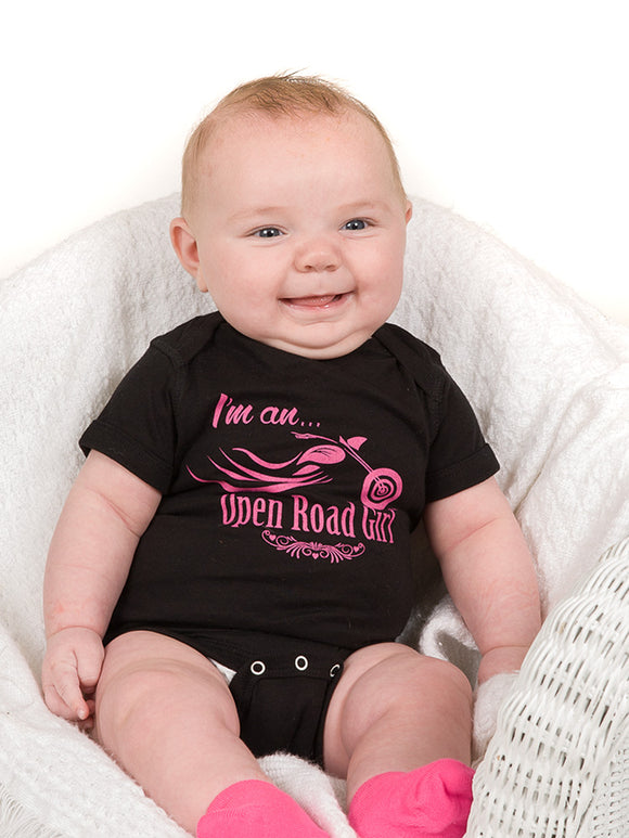 Open Road Girl Baby Onesie
