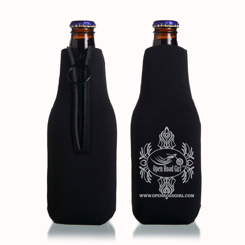 Open Road Girl Bottle Koozie, 2 Colors