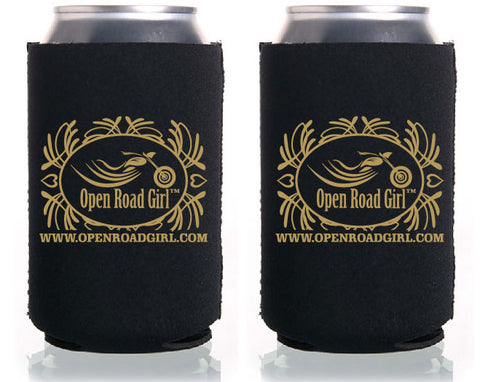 Open Road Girl Can Koozie, 3 Colors
