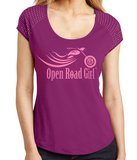 Open Road Girl Bling Ladies Shirt, 2 Colors