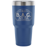 OLD B.A.G. Bad Ass Grandma Travel Tumbler, 12 COLORS