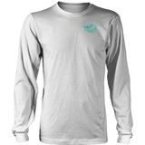 TEAL Unleash The Biker Within UNISEX Long Sleeve T-Shirt- Crewneck