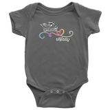 Open Road Girl Baby Onesies, 4 COLORS