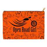 ORANGE Open Road Girl Accessory Bags, 2 Sizes