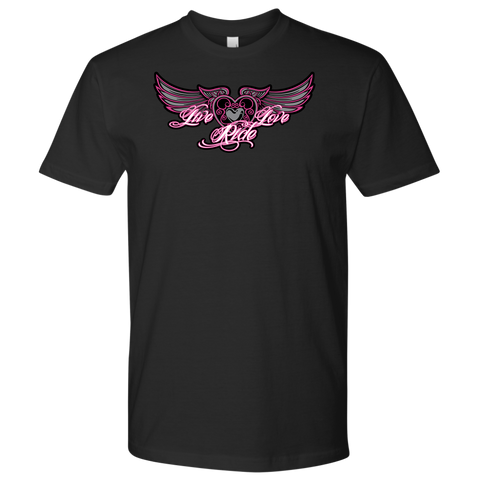 PINK Live Love Ride MEN'S STYLE Tee