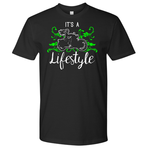 GREEN It's a Lifestyle UNISEX Short Sleeve T-Shirt- Crewneck