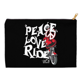 RED Peace Love Ride Accessory Accessory Bags, 2 Sizes