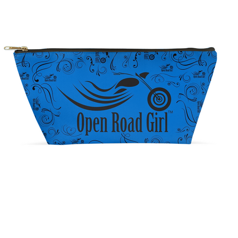 BLUE Open Road Girl Large Accessory Bags, 2 Sizes