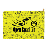 YELLOW Open Road Girl Accessory Bags, 2 Sizes