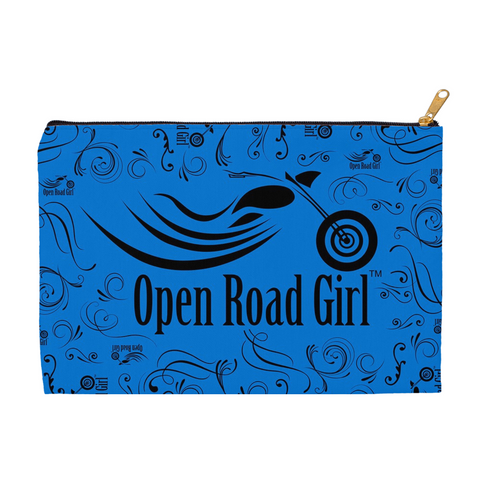 BLUE Open Road Girl Accessory Bags, 2 Sizes