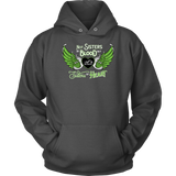 GREEN Not Sisters by Blood...Open Road Girl UNISEX Pullover Sweatshirt