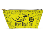 YELLOW Open Road Girl Large Accessory Bags, 2 Sizes