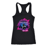 2021 IFRD Pink/Purple Open Road Girl Racer Back Women's Tank. 4 COLORS