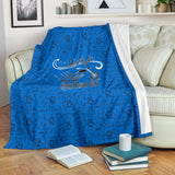 BLUE Open Road Girl Scatter Regular Blanket