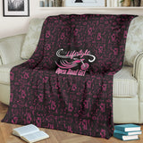 PINK Open Road Girl Scatter Regular Blanket