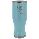 MAY YOUR ANGELS GUIDE YOUR RIDE  (20 OUNCES) TRAVEL BOHO MUG, 12 COLORS