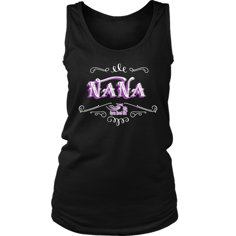 PURPLE Nana Full Back Women's Tank Top