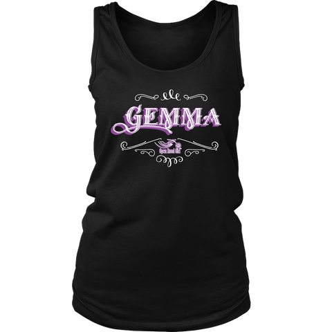 PURPLE Gemma Full Back Women's Tank Top
