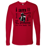 I AM...Inspiration MEN'S Open Road Girl Crew Neck Long Sleeve Tee, 3 COLORS