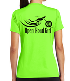Open Road Girl Scoop Neck Tee, 3 Colors