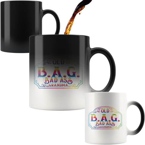 Old B.A.G. 11OZ MAGIC MUG