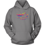 RAINBOW Unleash the Biker Within Sweatshirt UNISEX Hoodie