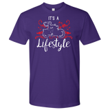 RED It's a Lifestyle UNISEX Short Sleeve T-Shirt- Crewneck