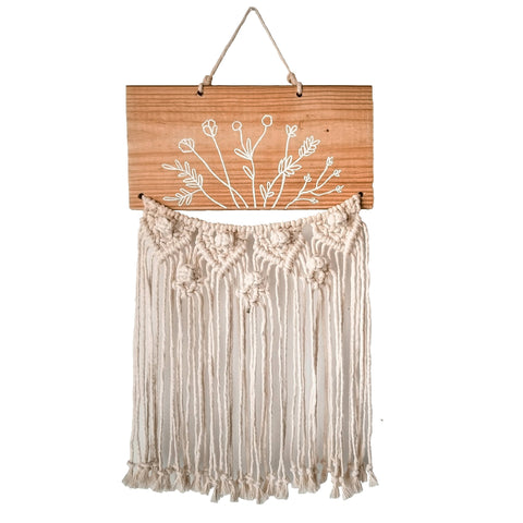 Bushel Of Flowers Wallhanging