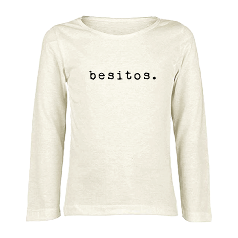 Besitos - Organic Long Sleeve Tee