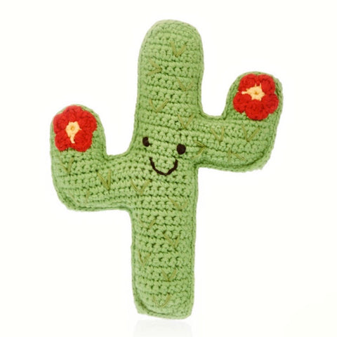 Friendly Cactus Rattle - tinybirdstinybees