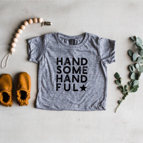 Handsome Handful Tee - tinybirdstinybees
