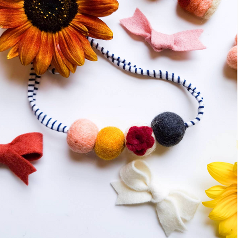 Everything Fall Necklace - Floral