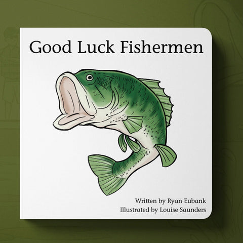 Good Luck Fisherman Book