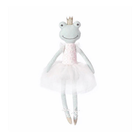 Flora the Frog Ballerina Heirloom Doll