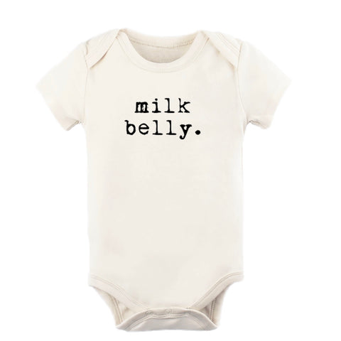 Milk Belly Onesie - Black