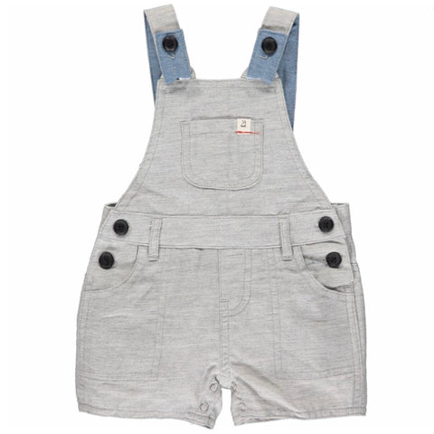 Grey Shortie Overalls