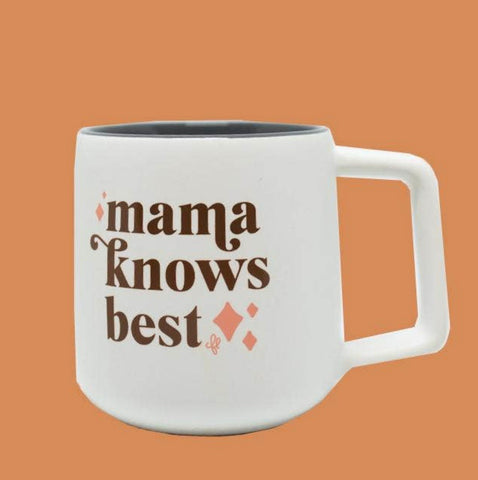 Mamas Knows Best Mug