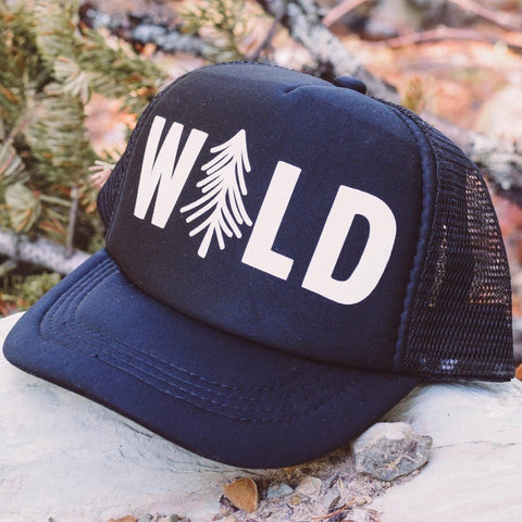 Kid WILD tree Hat